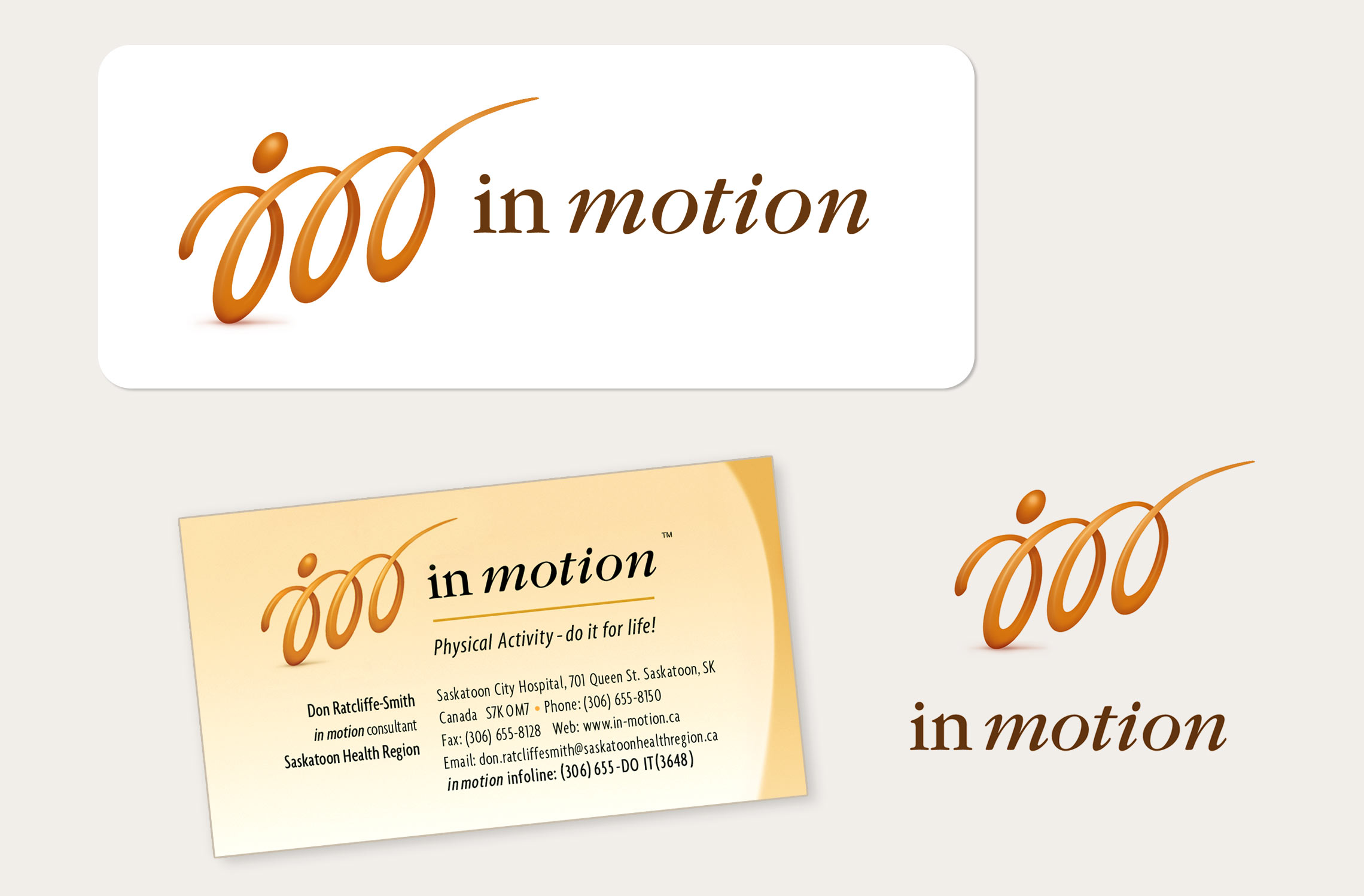 In Motion: Logo and Business Card